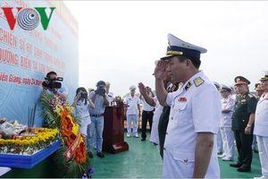 Vùng 5 Hải quân kỷ niệm 40 năm chiến dịch đổ bộ đường biển Tà Lơn