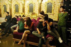 Tạm đình chỉ công tác nhiều người liên quan đến 'tiệc' ma túy