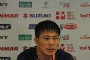 HLV Kim Yong Jun: 'Đây không phải là trận đấu giao hữu với chúng tôi'