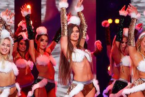Người đẹp Nga khoe dáng bikini mừng Giáng sinh