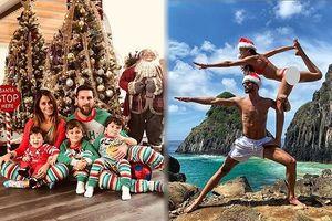 Messi, Ronaldo và dàn mỹ nhân nội y tưng bừng đón Giáng sinh