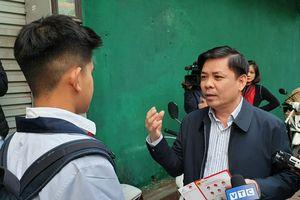 Bộ trưởng trực tiếp tuyên truyền đội MBH cho học sinh