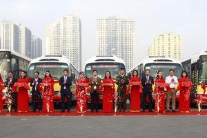 Hà Nội thêm bốn tuyến buýt kết nối các huyện ngoại thành
