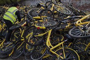 Hãng chia sẻ xe đạp hàng đầu Trung Quốc sắp phá sản