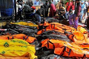 Trận sóng thần ở Indonesia đã khiến ít nhất 373 người thiệt mạng