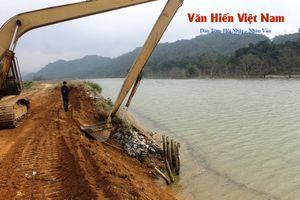 Hà Giang: Khắc phục sự cố vỡ bờ đê bao thủy điện Sông Lô 2