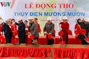 Động thổ dự án Thủy điện Mường Mươn tại Điện Biên