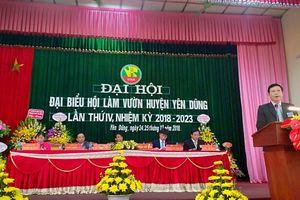 Tổ chức thành công Đại hội điểm HLV Yên Dũng nhiệm kỳ 2018 - 2023
