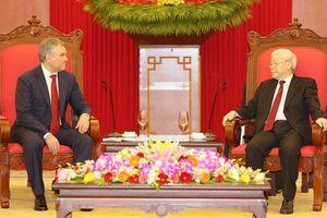 Coi trọng củng cố và phát triển quan hệ Đối tác chiến lược toàn diện với Liên bang Nga