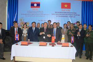 Thống nhất việc quản lý mốc quốc giới giữa các địa phương Việt Nam-Lào