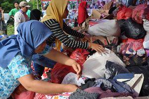 Indonesia nỗ lực tìm kiếm nạn nhân sóng thần