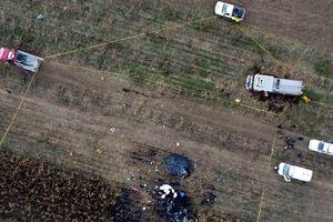 Mexico: Rơi máy bay trực thăng, thống đốc bang Puebla thiệt mạng