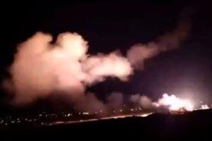 Máy bay chiến đấu Israel bất ngờ tập kích Syria