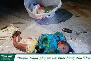 Cặp đôi vứt em bé 2 tuần tuổi giữa chợ sau khi cãi nhau