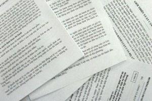 Phát hiện gần 400 văn bản trái luật