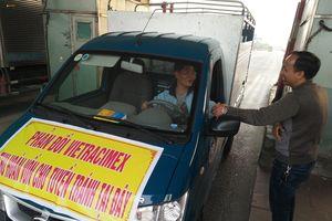 Yêu cầu công ty Vietracimex 8 đối thoại với tài xế 'cắm chốt' phản đối trạm thu phí