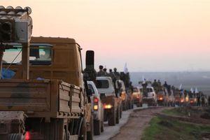 Quân chính phủ Syria tiến vào khu vực Manbij do người Kurd kiểm soát