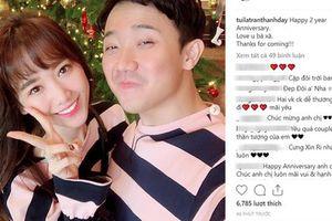2 năm kỷ niệm ngày cưới 1 lời chúc, đây mới là điều Trấn Thành muốn nhắn nhủ tới Hari Won