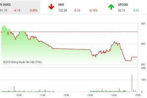 Phiên chiều 26/12: Lực bán gia tăng, VN-Index mất điểm phiên thứ 10 liên tiếp
