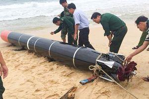 Bộ Quốc phòng xác nhận vật thể lạ ở biển Phú Yên là ngư lôi nước ngoài