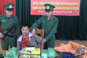Nghệ An: Vượt biên buôn ma túy, đối tượng người Lào sa lưới