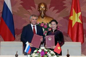 Một diễn đàn và sân chơi mới cho hợp tác Quốc hội Việt - Nga
