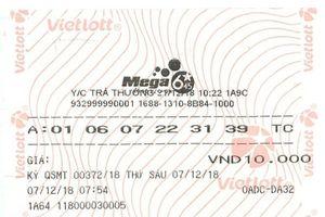 Một khách hàng tại Đà Nẵng trúng Vietlott hơn 13 tỷ đồng