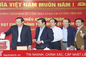 Thêm 35 xã về đích, Hà Tĩnh có 158 xã đạt chuẩn nông thôn mới