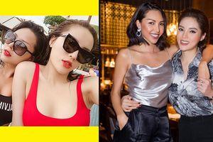 Rộ tin đồn Hoa hậu Kỳ Duyên đang hẹn hò với nữ siêu mẫu nổi tiếng