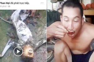 Khởi tố nhóm người giết voọc rồi phát trực tiếp cảnh ăn óc lên mạng xã hội
