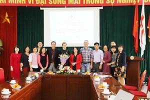 Lễ chia tay Trưởng đại diện Hội Chữ thập đỏ Thụy Sỹ tại Việt Nam