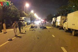 Va chạm xe máy trong đêm làm 2 người chết tại chỗ