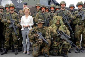 Quân đội Đức cân nhắc tuyển dụng lính ngoại quốc