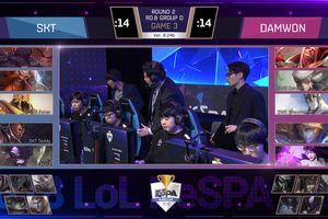 SKT T1 bất ngờ thua sốc Damwon Gaming ở Kespa Cup