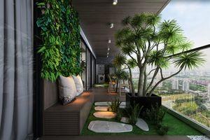Căn hộ tầng cao sở hữu sân vườn riêng tại Hà Nội