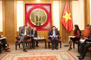 Bộ trưởng Nguyễn Ngọc Thiện tiếp Đại sứ Đức tại Việt Nam