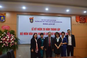 Bộ môn Văn hóa học và Lịch sử Văn hóa Việt Nam tròn 20 năm tuổi