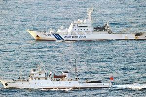 'Tàu cá Trung Quốc bỏ trốn cùng 10 thanh tra Nhật Bản'