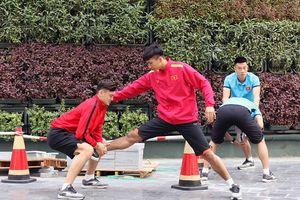 Những hoạt động đầu tiên của Đội tuyển bóng đá Việt Nam tại Qatar