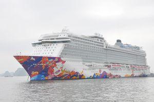 Chiêm ngưỡng tàu du lịch siêu sang ghé thăm Hạ Long