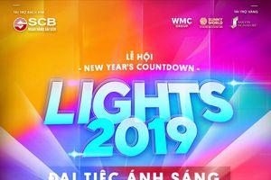 Đại tiệc ánh sáng chào năm mới trên phố đi bộ Nguyễn Huệ