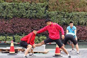 Đội tuyển Việt Nam đã đến Qatar tái đấu Philippines ngày 31.12