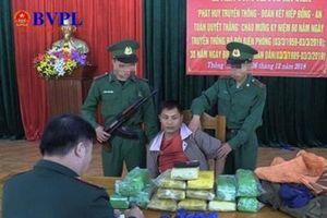 Đối tượng người Lào vận chuyển ma túy số lượng 'khủng'