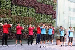 'Lộ' hình ảnh Đội tuyển Việt Nam tại Doha, Qatar