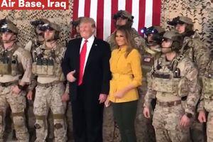 Ông Trump vô tình làm lộ thông tin quân sự nhạy cảm trong chuyến thăm Iraq?
