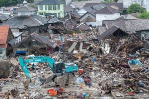 Miền Đông Indonesia lại xảy ra động đất