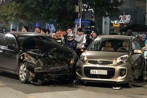 Thái Nguyên: Honda Accord tông Kia Morning, 3 người bị thương