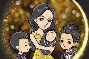 Trương Bá Chi thừa nhận sinh con thứ 3 được 1 tháng