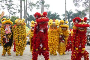108 con lân đồng diễn xác lập Kỷ lục Guinness Việt Nam