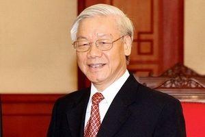 Tổng bí thư, Chủ tịch nước Nguyễn Phú Trọng làm Chủ tịch danh dự của Hội Chữ thập đỏ Việt Nam